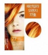 Краска для волос на фруктовой основе Welcos Fruits Wax Pearl Hair Color #77 60мл*60г: фото