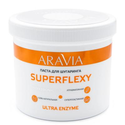 Паста для шугаринга ARAVIA Professional SUPERFLEXY Ultra Enzyme 750г: фото