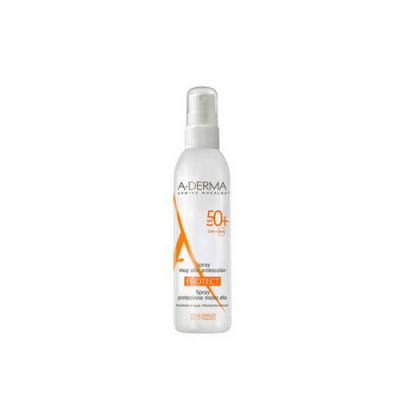 Cолнцезащитный спрей A-DERMA Protect SPF50+ 200мл: фото