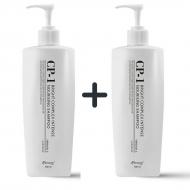 Beauty box Бьюти бокс 1+1 Набор из 2 протеиновых шампуней для волос ESTHETIC HOUSE CP-1 BC Intense Nourishing Shampoo, 500 мл: фото